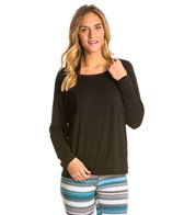 Pure Karma Slouchy Long Sleeve Yoga Shirt