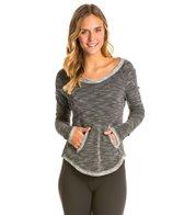 Pure Karma Long Sleeve Lava Yoga Shirt