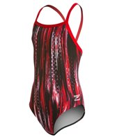 Speedo Endurance+ Deep Within Flyback Youth Swimsuit