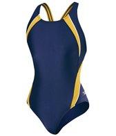 Speedo PowerFLEX Eco Taper Splice Pulse Back Youth Swimsuit