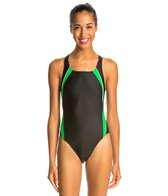 Speedo PowerFLEX Eco Taper Splice Pulse Back Women's Swimsuit