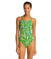 Speedo Endurance+ Conquers All Touch Back Swimsuit