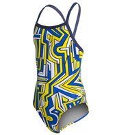 Speedo Endurance+ Conquers All Youth Flyback Swimsuit