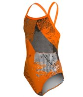 Speedo Endurance+ How It's Done Youth Flyback Swimsuit