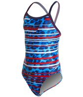 Speedo PowerFLEX Eco Got You Flyback Youth Swimsuit
