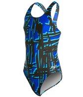 Speedo PowerFLEX Eco Must Be It Youth Dropback Swimsuit