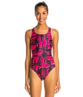 Speedo PowerFLEX Eco Must Be It Women's Dropback Swimsuit