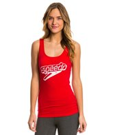 Speedo Female Front Stacked Logo Tank Top