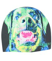 Speedo Hydro Dog Silicone Swim Cap