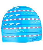 Speedo Lane Changer Silicone Swim Cap