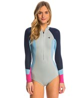 Xcel Women's 2MM Hanalei Bikini Cut Front Zip Long Sleeve Spring Suit Wetsuit