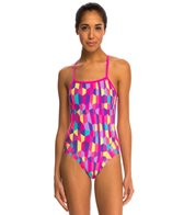 Funkita Bobbly Bubbly Cross Back One Piece Swimsuit