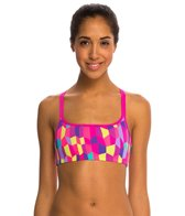 Funkita Bobbly Bubbly Criss Cross Sports Swimsuit Top