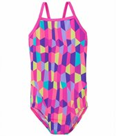 Funkita Bobbly Bubbly Girl's Cross Back One Piece Swimsuit