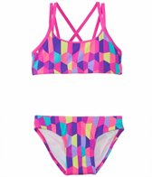 Funkita Bobbly Bubbly Criss Cross Sports Two Piece Swimsuit