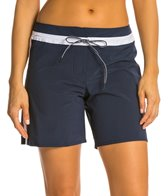 Seafolly Block Party Mid Length Boardshort