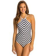 Seafolly Coast to Coast High Neck One Piece Swimsuit