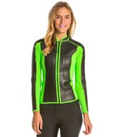 Howzit Women's Neo Front Zip Wetsuit Jacket