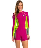 Howzit Women's 2MM Neo Soft Long Sleeve Back Zip Spring Suit Wetsuit