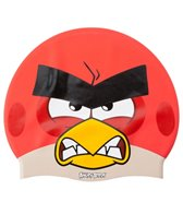 Angry Birds Angry Red Silicone Swim Cap