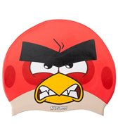 Angry Birds Angry Red Silicone Swim Cap Jr.