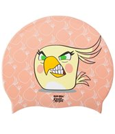 Angry Birds Stella Disguised Poppy Silicone Swim Cap Jr.