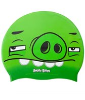 Angry Birds Skeptical Pig Silicone Swim Cap Jr.