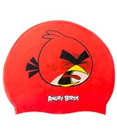 Angry Birds Screamin' Red Silicone Swim Cap Jr.