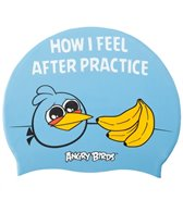 Angry Birds After Practice Silicone Swim Cap Jr.