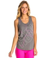 Under Armour Women's HeatGear Oversized Run Graphic Tank