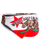 Turbo Men's West Coast Water Polo Brief