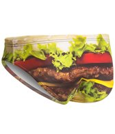 Turbo Men's Burger Water Polo Brief
