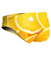 Turbo Men's Orange Water Polo Brief