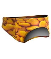 Turbo Men's Gold Fish Water Polo Brief