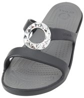 Crocs Women's Sanrah Studded Circle Sandal