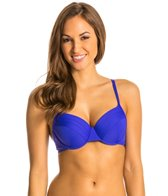 BLEU Rod Beattie Over the Edge Solid Underwire Bra Top