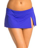 BLEU Rod Beattie Over the Edge Solid Skirted Hipster Bottom