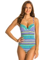 BLEU Rod Beattie Baja Bohemian Underwire One Piece Swimsuit