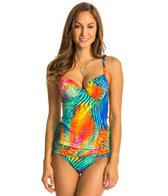 BLEU Rod Beattie Wild At Heart Underwire Tankini Top