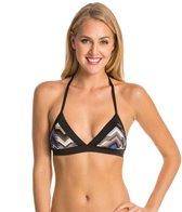 Vitamin A Sportif Rothko Halter Bralette Bikini Top