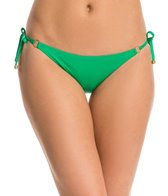 Vitamin A Solid Celebrity String Tie Side Bikini Bottom