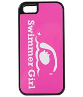 Bay Six Swimmer Girl Pink iPhone Phone Case