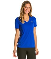 Adidas Women's Ultimate Short Sleeve V-Neck Tee