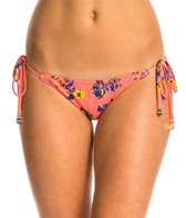 MINKPINK By The Sea Reversible Tie Side Bikini Bottom