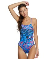 Turbo Seasons Thin Strap One Piece Swimsuit