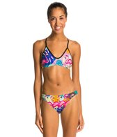 Turbo Flamingo Two Piece Swimsuit