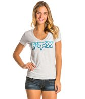 FOX Fascinate V Neck Tee
