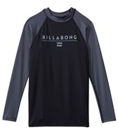 Billabong Men's All Day Raglan L/S Rashguard