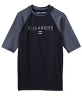 Billabong Men's All Day Raglan Short Sleeve Rashguard