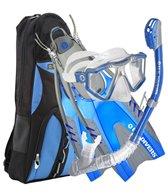 U.S. Divers Lux LX Purge Mask / Phoenix LX Snorkel / Pivot Dive Fins / Pro-Bag